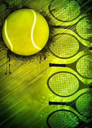 Tennis background