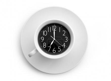 Concept de temps au café