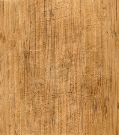 Photo for Wooden chopping board texture - Royalty Free Image