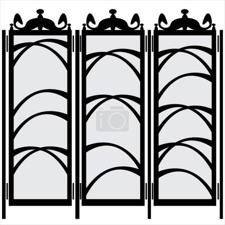 Folding screen 5