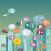 City social network
