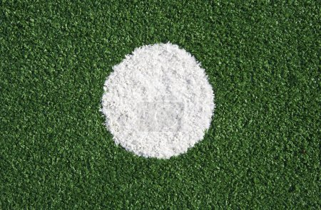 Abstract of a synthetic hockey field