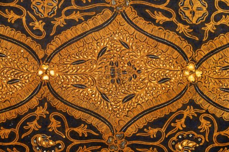 Detail of a batik design from Indonesia