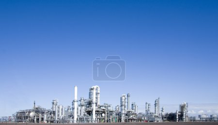 Photo for Refinery at Europoort, Rotterdam, Holland - Royalty Free Image
