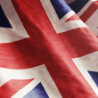 High resolution English Flag flowing with texture ...