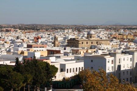 Photo pour Vista de la ciudad desde Santa Ana - image libre de droit