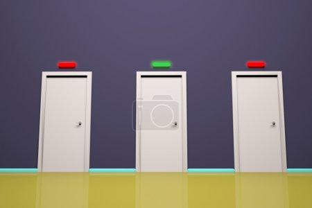 trois portes