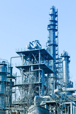 Photo for Modern Industry, refinery complex - Royalty Free Image