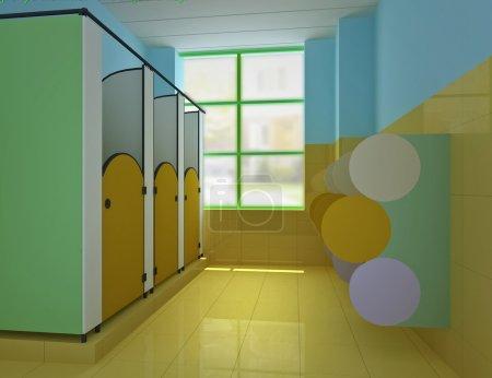 3d public children's toile
