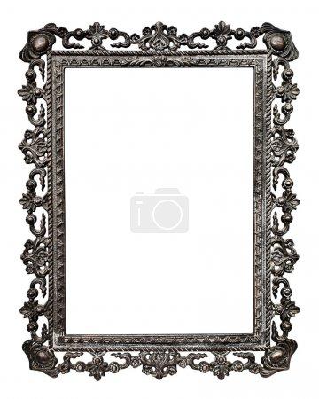 Photo pour Vieille armature métallique photo (n° #13), isolé sur fond blanc (détaillé masques inclus, sélection faite à l'aide de l'outil plume à vue de 200-300 %) - image libre de droit