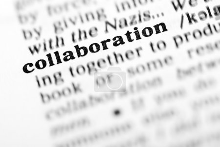 collaboration word dictionary