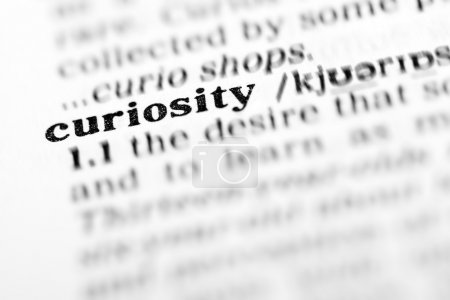 Curiosity word dictionary