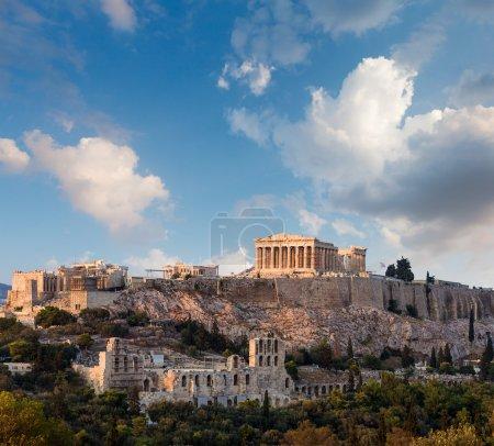 Photo for Parthenon temple on Athenian Acropolis, Athens, Greece - Royalty Free Image