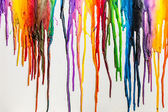 """Постер, картина, фотообои """"Расплавленный карандашами красочных абстрактных"""""""