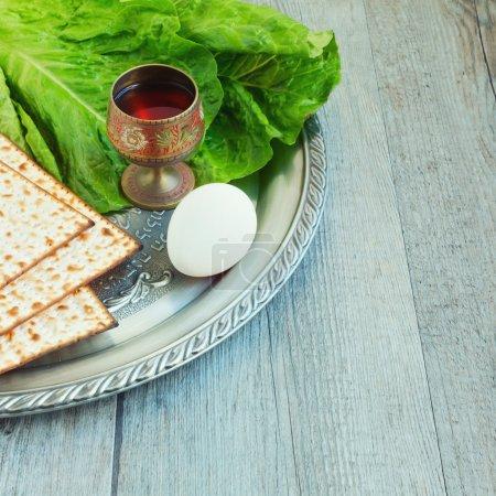 Jewish  Passover seder celebration...