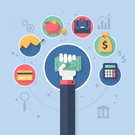 Online banking and control finance application