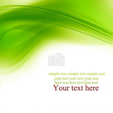 Photo pour Lignes vertes. Contexte abstrait - image libre de droit