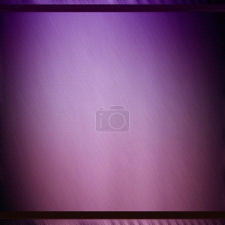 Photo pour Foncé fond violet abstrait avec bordure noire cadre vintage grunge background texture design et avec le projecteur Centre - image libre de droit