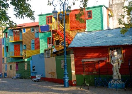 Street La Boca - Caminito, Buenos Aires, Argentina.