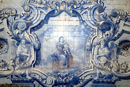 Vintage tiles from Lisbon, Portugal.