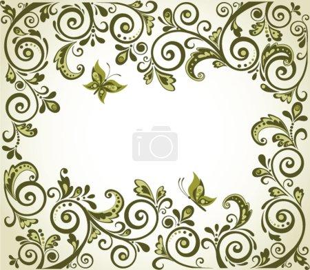 Vintage olive decoration