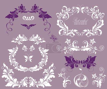 Beautiful design for wedding invitations