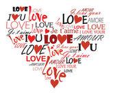 """Постер, картина, фотообои """"Влюбленное сердце"""""""