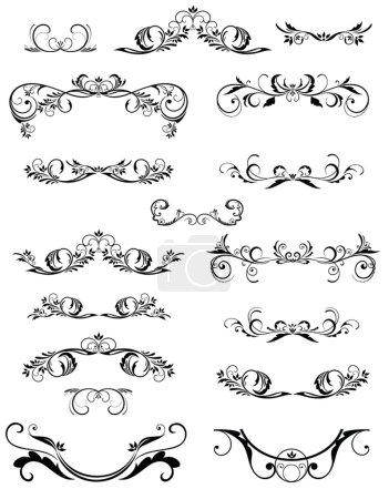 Illustration for Vintage frame and design elements - Royalty Free Image