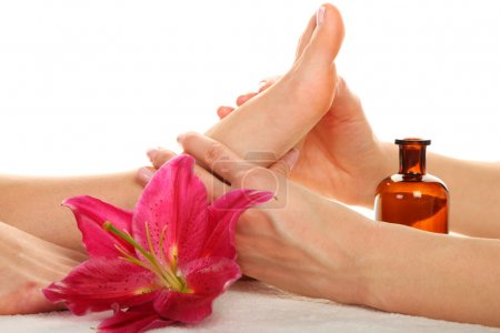 Photo for Beauty treatment photo - Feet Massage - Royalty Free Image