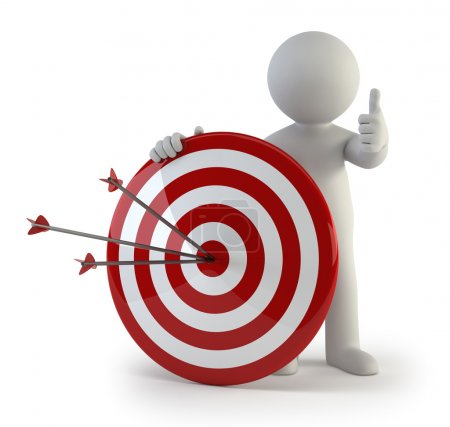 3d small - target
