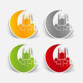 realistic design element: mosque