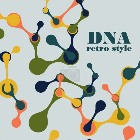 vintage structure of the DNA molecule