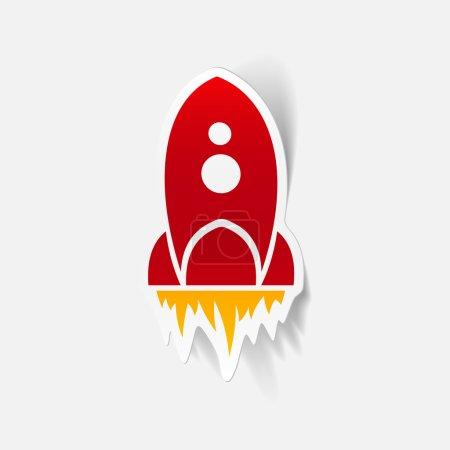 Illustration rocket