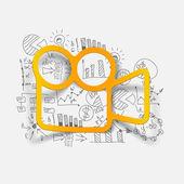 Drawing business formulas: video