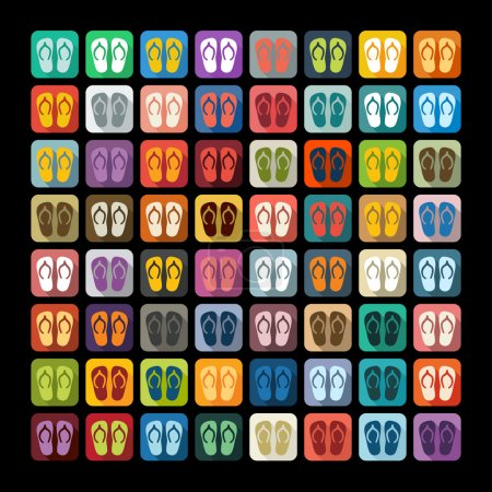 slippers icons