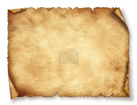 Photo for Old paper sheet , Vintage aged old paper. Original background or texture - Royalty Free Image