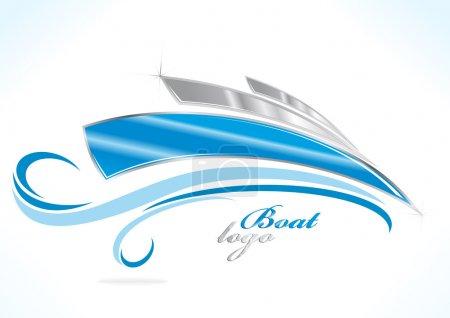business boat logo