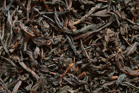 Photo for Close-up of dried black tea leaves - Royalty Free Image