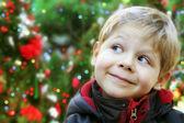 Vánoční dítě portrét