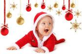 šťastné dítě vánoční ozdoby