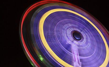 Rotating ride