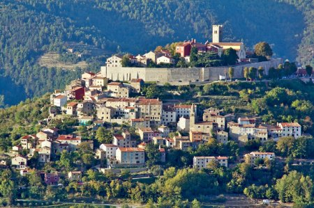 Motovun in Istria, Croatia