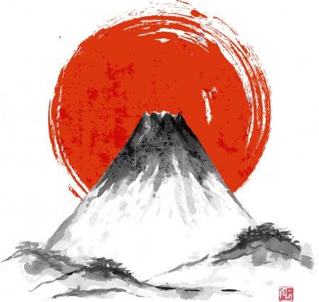 Fujiyama mountain