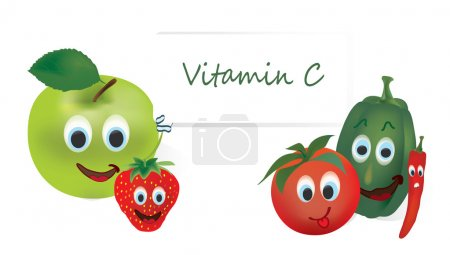 Vitamin C Vegetables and Fruits