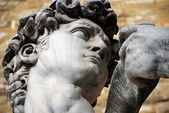 Statue of David by Michelangelo in Florence, Tuscany, Italy