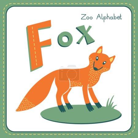 Letter F - Fox