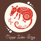 Rat Chinese Zodiac Sign