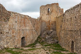 Montsegur medieval Cathar castle