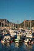 Yacht. Sea. Port
