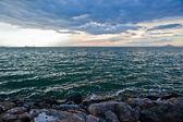 Green mediterranean sea